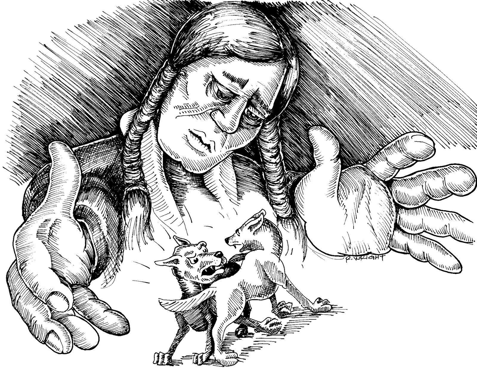 Les deux loups – sagesse amérindienne