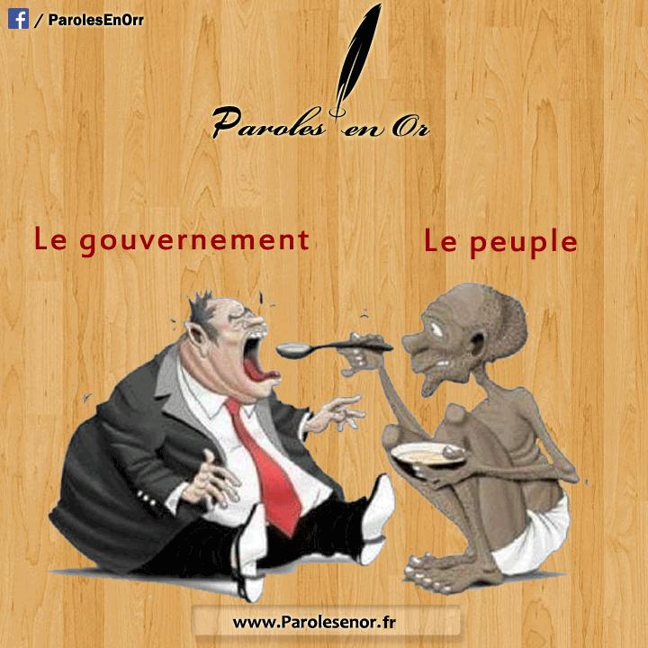 le gouvernement et le peuple